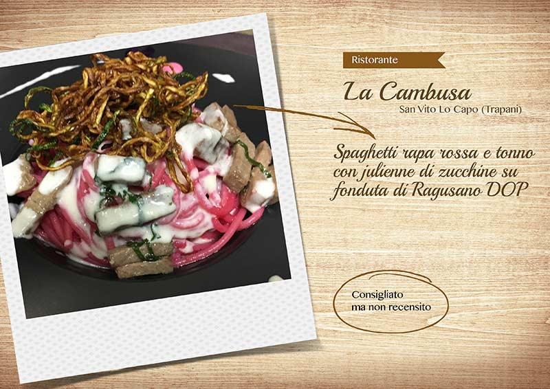 Ristorante La Cambusa - spaghettiraparossa