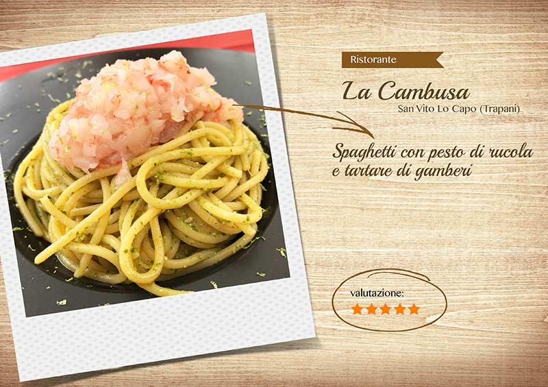 Ristorante La Cambusa - spaghettirucolaegamberi