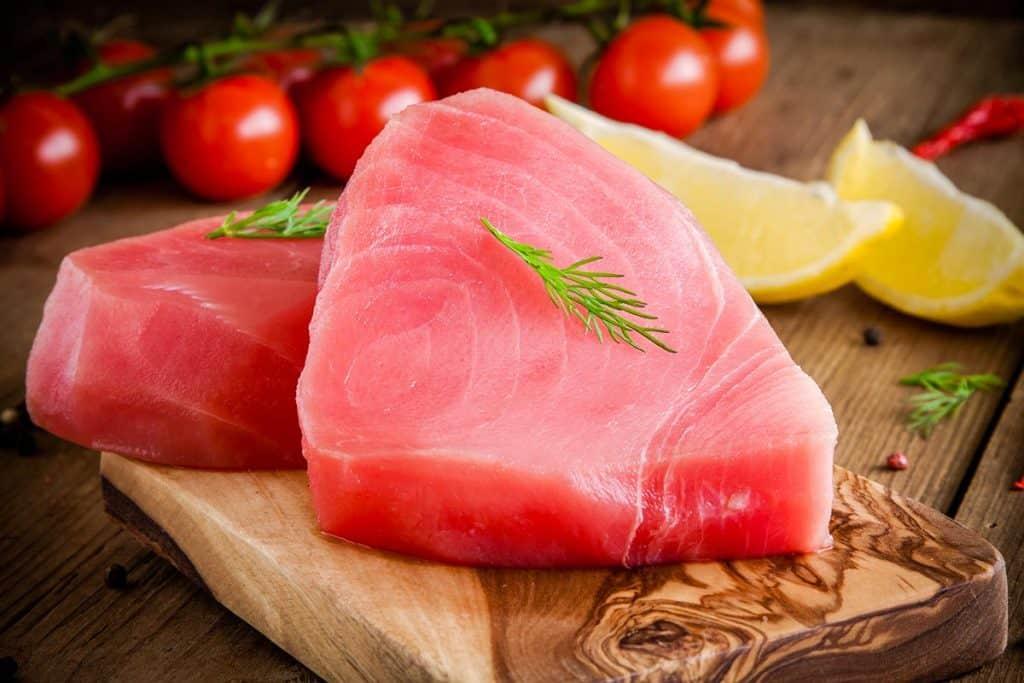 Parma cucina molecolare mantiene il sapore del pesce appena pescato