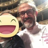 Lo chef Massimo Bottura - Osteria Francescana - 3 Stelle Michelin
