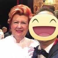 La chef Annie Feolde - Enoteca Pinchiorri - 3 Stelle Michelin