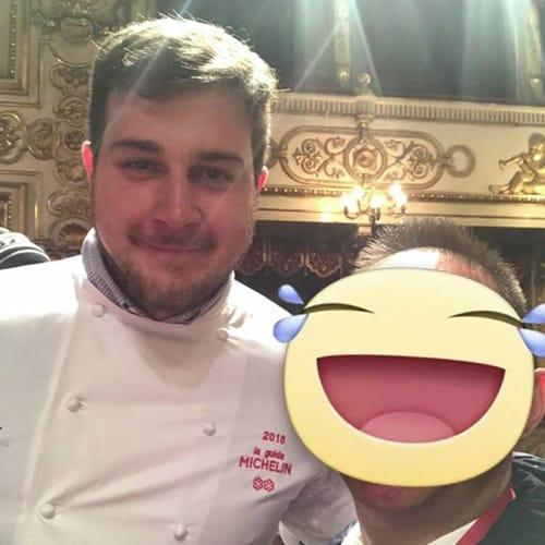 La chef Matteo Metullo - ristorante La Siriola di San Cassiano- 2 Stelle Michelin
