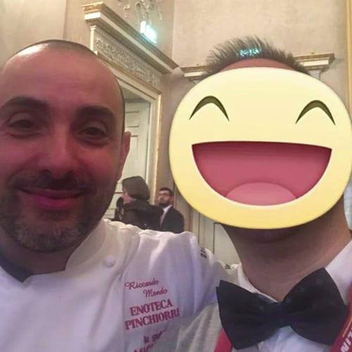 L'executive chef Riccardo Monco - Enoteca Pinchiorri - 3 Stelle Michelin