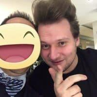 Il giovane e promettente chef Nikita Sergeev del ristorante L'arcade
