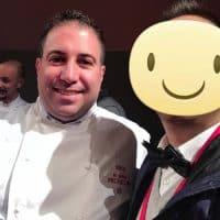 Lo chef Luigi Tramontano - 1 Stella Michelin