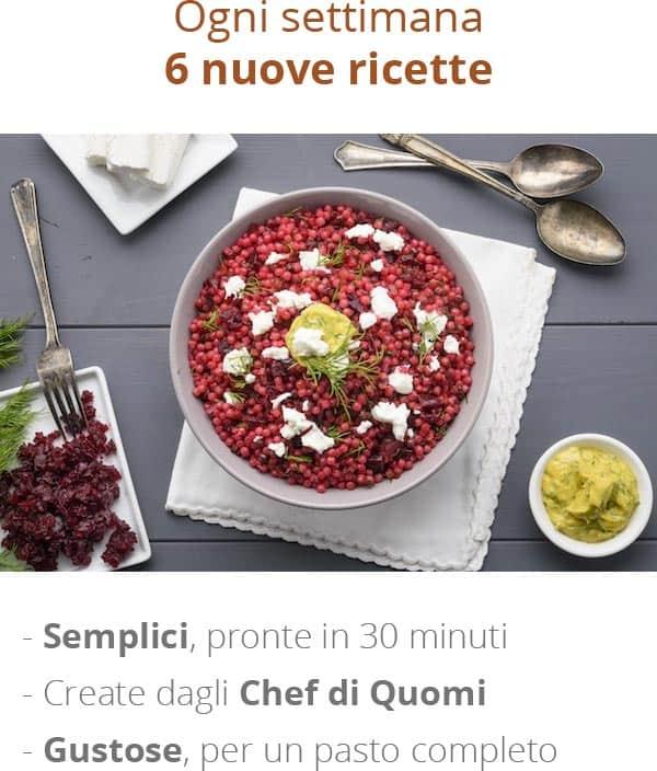 Ogni settimana 6 nuove ricette