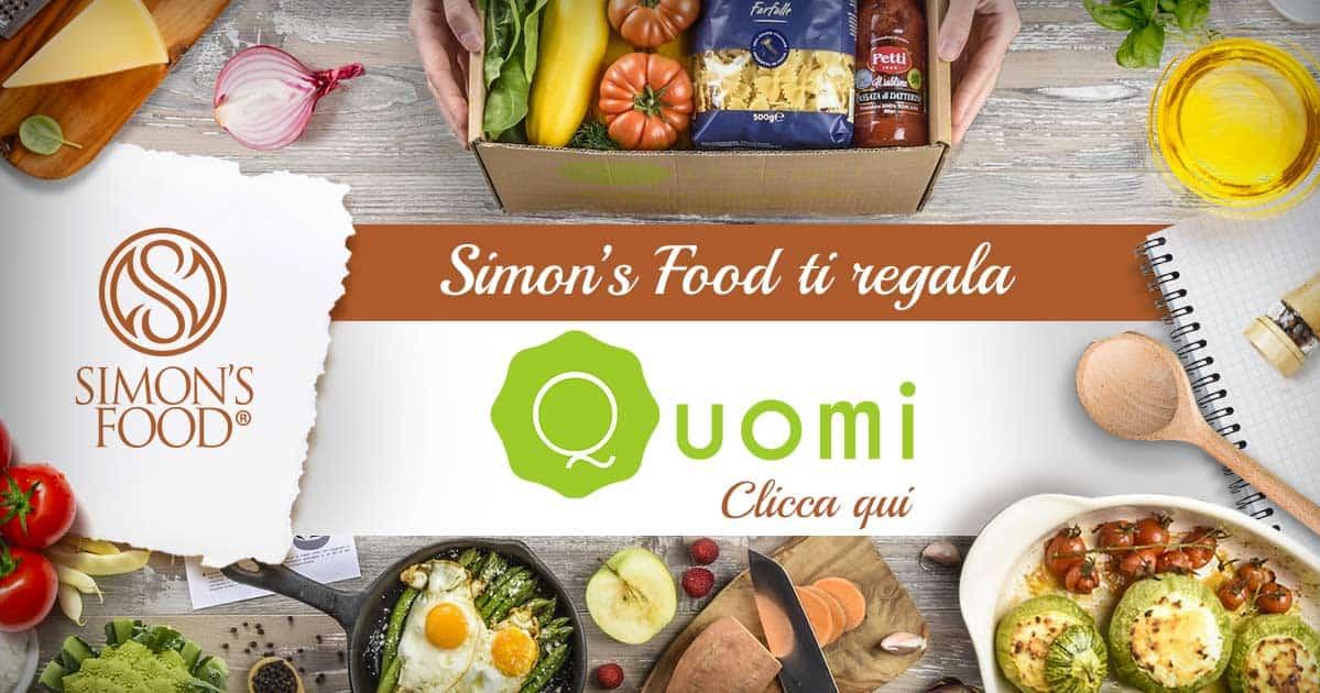 Simon Italian Food ti regala le ricette di Quomi