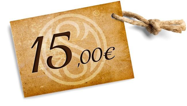 Sconto 15 euro
