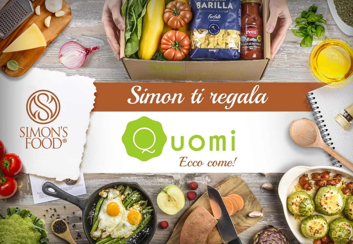 Simon ti regala le ricette di Quomi