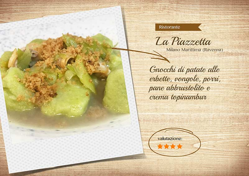 Ristorante La Piazzetta - gnocchi-sito