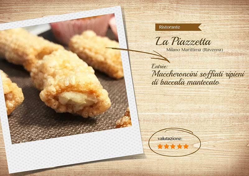 Ristorante La Piazzetta - maccheroncini-sito