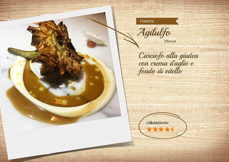 Osteria Agilulfo - carciofo