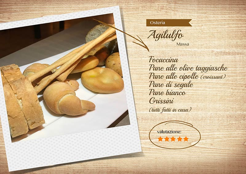 Osteria Agilulfo - pane