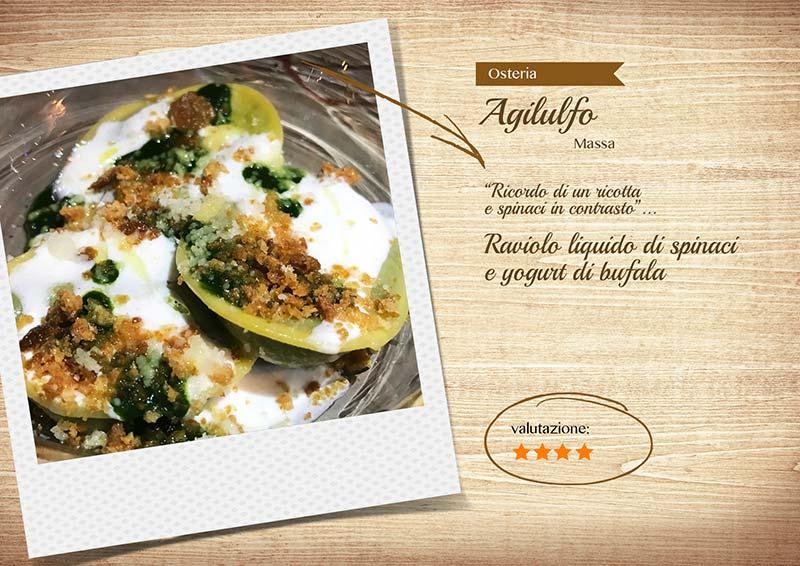 Osteria Agilulfo - raviolo