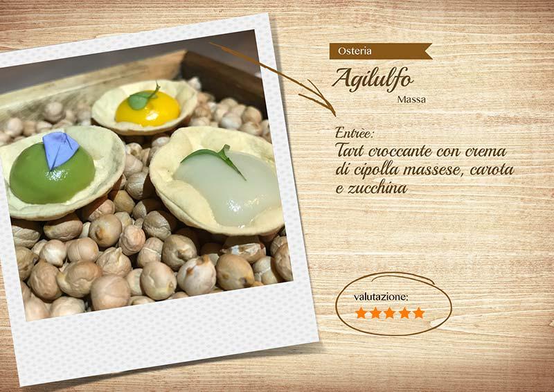 Osteria Agilulfo - tartellette