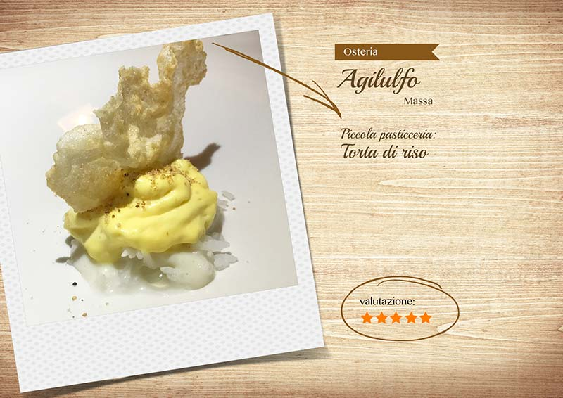 Osteria Agilulfo - torta di riso
