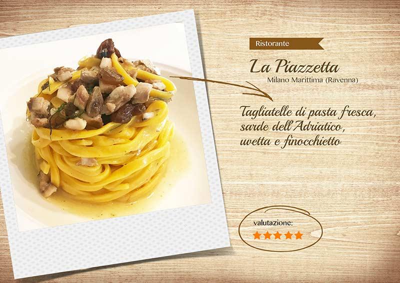 Ristorante La Piazzetta - tagliatelle-sito