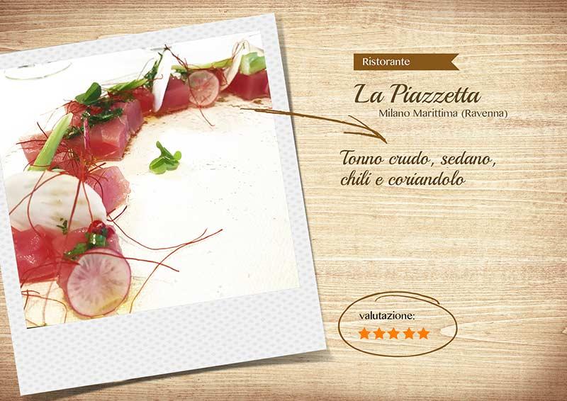 Ristorante La Piazzetta - tonno-sito