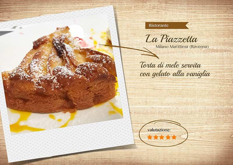 Ristorante La Piazzetta - torta-sito