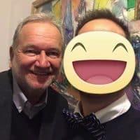 Con Clément Vachon (Direttore Comunicazione e International Relations per San Pellegrino - Nestlè)
