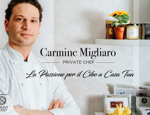 Carmine Migliaro: Chef a Domicilio