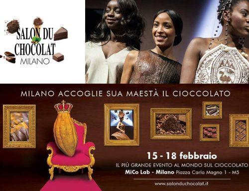 Salon du Chocolat, a Milano dal 15 al 18 febbraio 2018