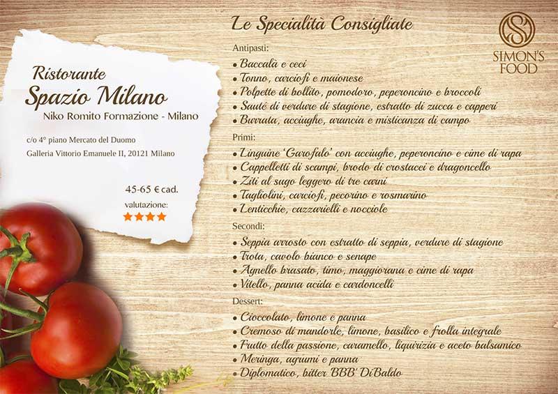 spazio milano - SpazioMilano menu-fb
