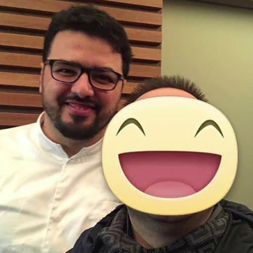 Con lo Chef Vincenzo Dinatale