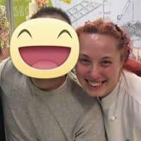 Con l'amica e cake designer di fama internazionale Laura Saporiti