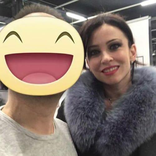 Con Manuela Costantini concorrente di Masterchef italia 2018