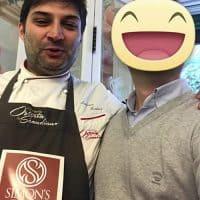 Lo chef Andrea Medici del ristorante Osteria in Scandiano, vincitore nel 2016 del reality 4 ristoranti di Alessandro Borghese