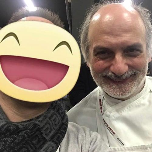 Con il pasticcere e docente di Pasticceria d'Autore Corrado Assenza