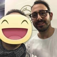 Con lo Davide di Fabio Sous Chef di Massimo Bottura dell'Osteria Francescana