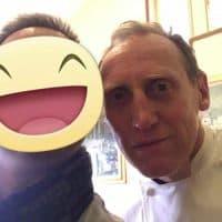 Con lo chef Antonio Ghilardi, allievo del grande Maestro Gualtiero Marchesi