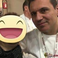 Con lo chef Oriol Castro Forns del ristorante Disfrutar - Barcellona