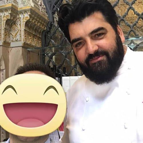 Lo chef Antonino Cannavacciuolo - Villa Crespi - 2 Stelle Michelin