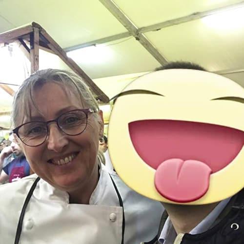 """La Chef Lucia Antonelli del ristorante """"La taverna del cacciatore"""" vincitrice del miglior tortellino d'italia"""