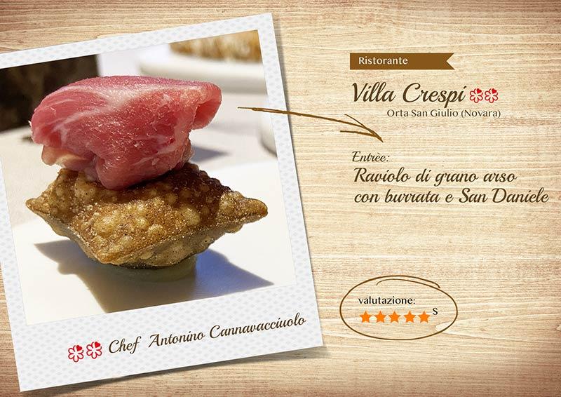 Villa Crespi 2020 - raviolo -sito