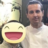 Lo chef Francesco Germani del ristorante Balthazar, St. Moritz. Concorrente del Reality Topchef 2016