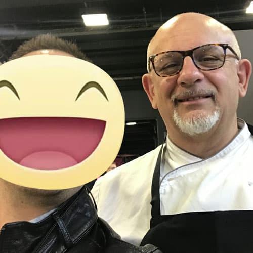 Lo chef stellato Claudio Sadler