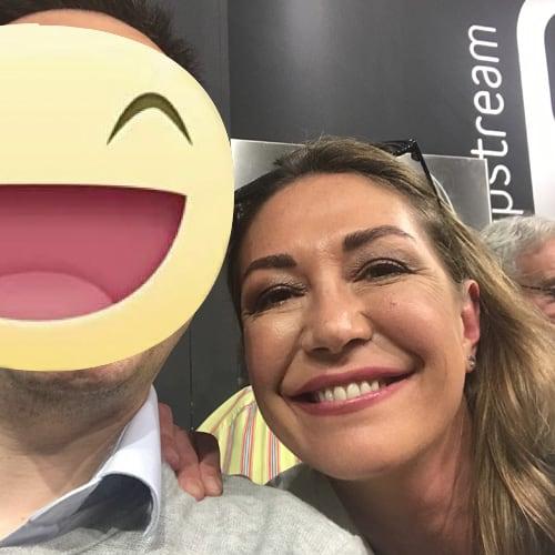 """Tessa Gelisio conduttrice televisiva """"Cotto e Mangiato"""" Italia 1"""