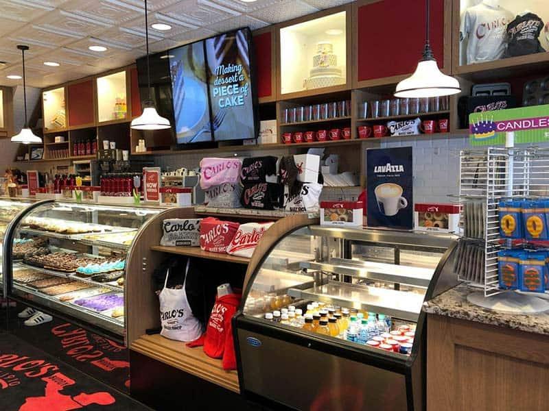 Carlos' Bakery - Foto interno negozio