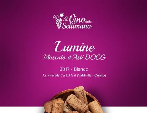 Lumine 2017. Moscato d'Asti DOCG