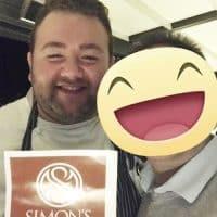 Lo chef Alessandro Parisi del Ristorante Hotel Filario sul lago di Como