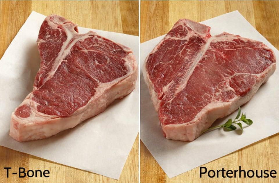 T-Bone vs Porterhouse