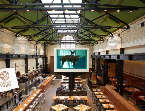 Londra: il Tramshed, un ristorante a dir poco eclettico