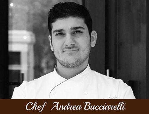 Chef Andrea Bucciarelli