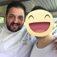 Lo chef Cristoforo Trapani del ristorante Magnolia 1STELLA MICHELIN dell'Hotel Byron 5**** L