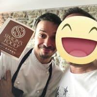 Lo chef Gianluca Gorini del ristorante iDa Gorini a San Piero in Bagno (Forli)