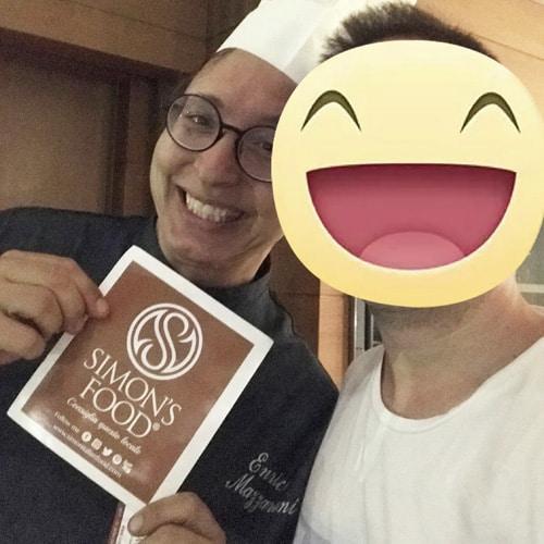 Lo chef Enrico Mazzaroni del ristorante il Tiglio in Vita a Porto Recanati (Ancona)